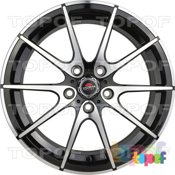 Колесные диски Yokatta Model-521. Цвет черный полированный