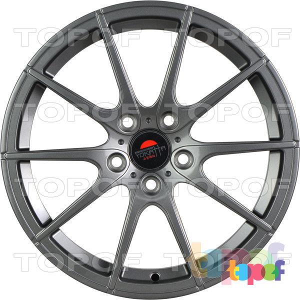 Колесные диски Yokatta Model-521. Цвет серый матовый