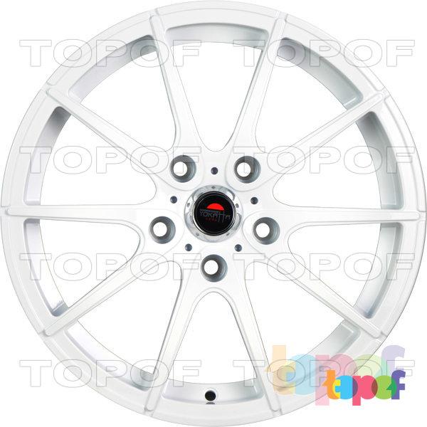 Колесные диски Yokatta Model-521. Цвет белый