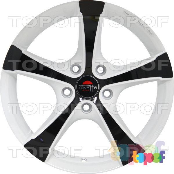 Колесные диски Yokatta Model-9. Цвет W+B