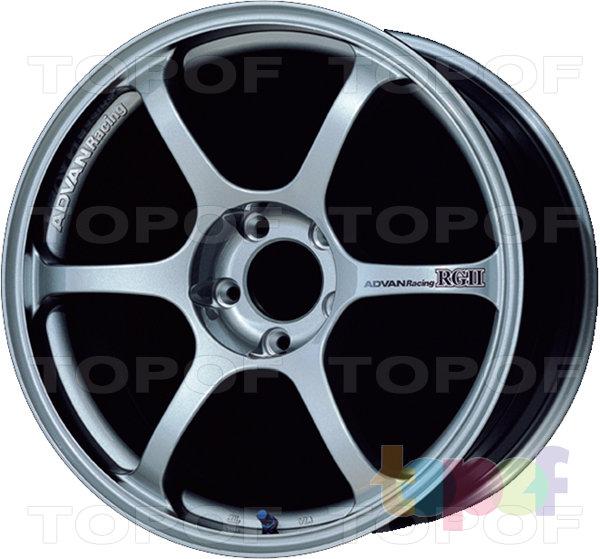 Колесные диски Yokohama Advan Racing RGII. Цвет - белый