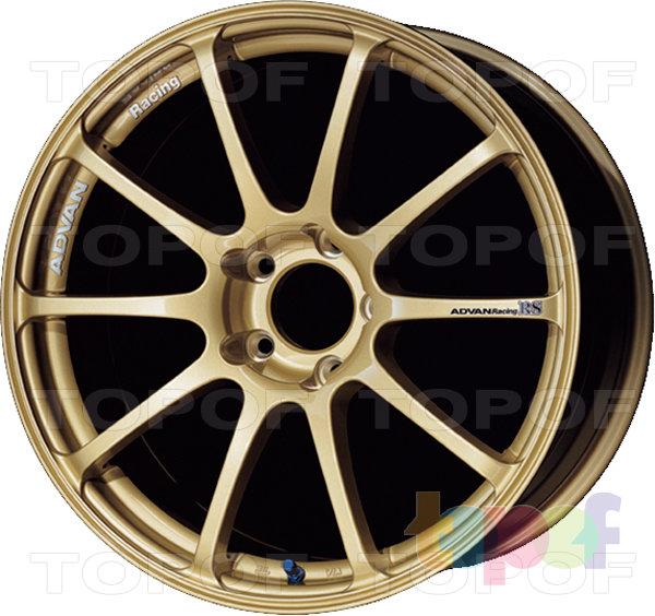 Колесные диски Yokohama Advan Racing RS. Цвет - золотой