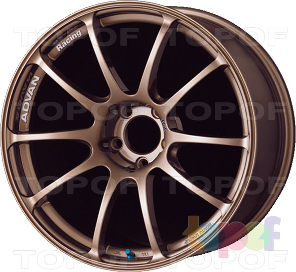 Колесные диски Yokohama Advan Racing RZ. Цвет - Dark Gun Metallic