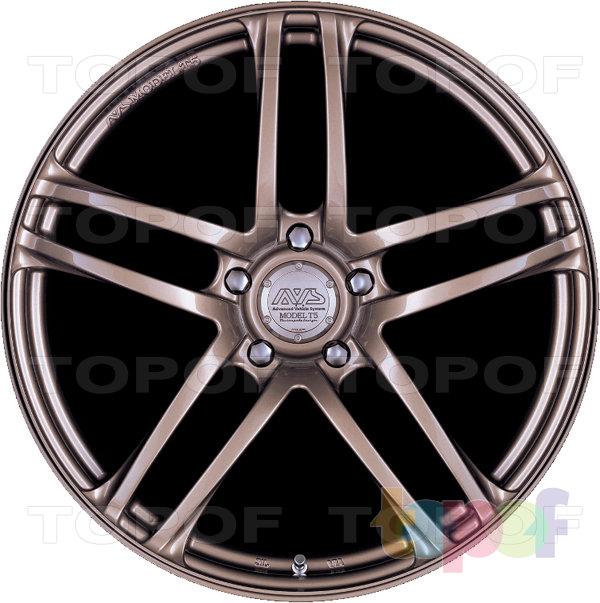 Колесные диски Yokohama AVS model T5. Изображение модели #3