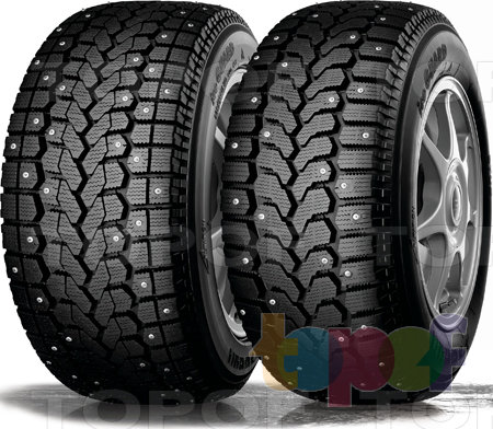 Шины Yokohama Ice Guard F700S / F700Z. Изображение модели #1