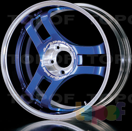 Колесные диски Yokohama Super Advan Racing Version2. Изображение модели #2