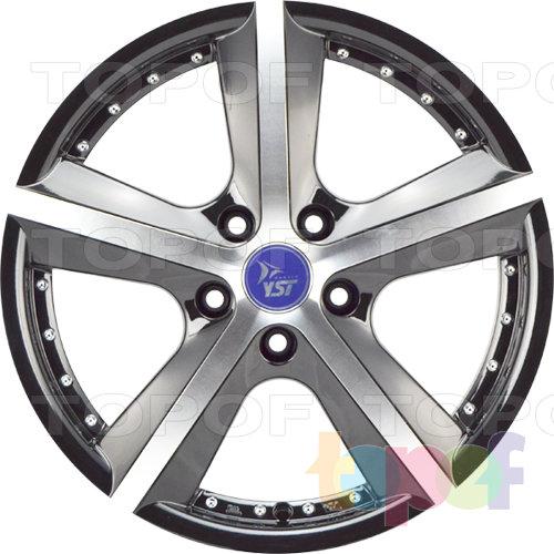 Колесные диски YST x13. Цвет BKF