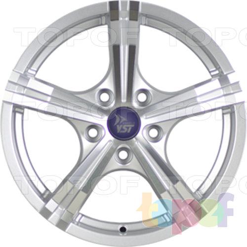 Колесные диски YST x23. Цвет серебристый полированный