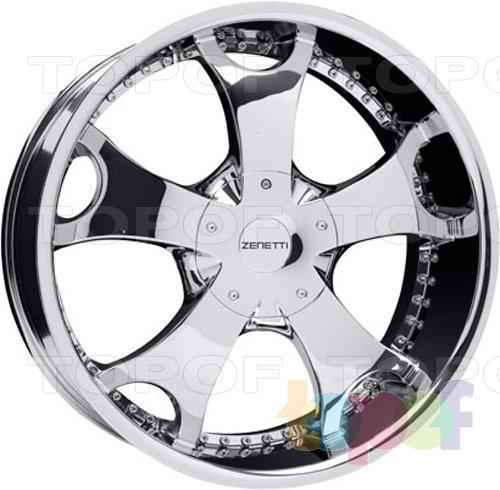 Колесные диски Zenetti Brigade. Изображение модели #1