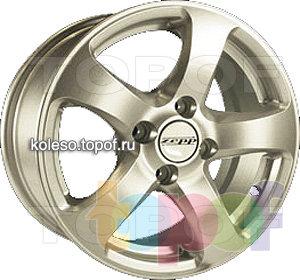 Колесные диски Zepp Bars. Изображение модели #1