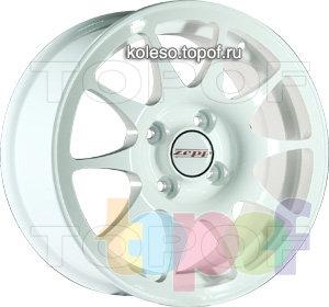 Колесные диски Zepp Harmonia. Изображение модели #2