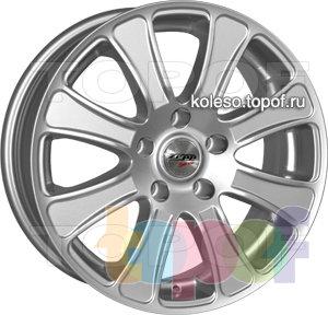 Колесные диски Zepp Royal Road Bologna. Изображение модели #1