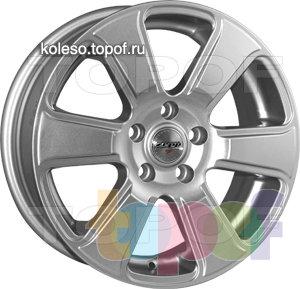 Колесные диски Zepp Royal Road Ferrara. Изображение модели #1
