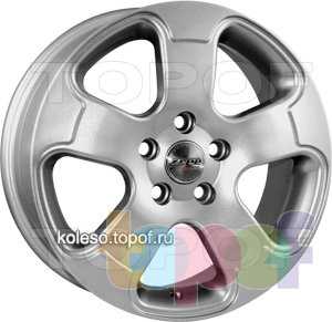 Колесные диски Zepp Royal Road Ravenna. Изображение модели #1