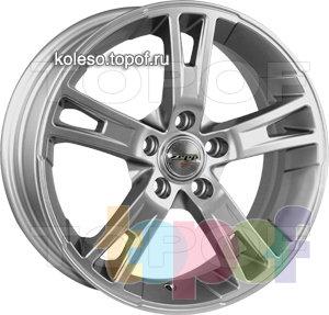 Колесные диски Zepp Royal Road Riccione. Изображение модели #1