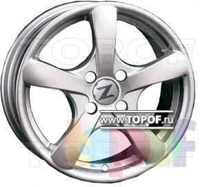 Колесные диски Zormer D602. Изображение модели #1