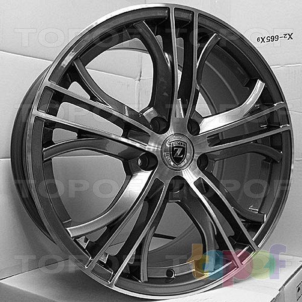 Колесные диски Zumbo 638. Изображение модели #1