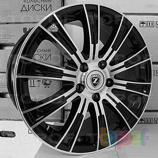 Колесные диски Zumbo XH143. Изображение модели #1