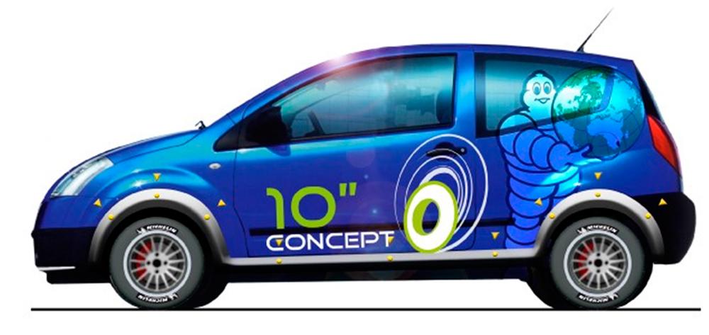 Инновации Michelin Challenge Bibendum: малоразмерная шина