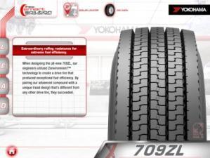 Новое приложение для iPad - Yokohama Commercial Tire Navigator