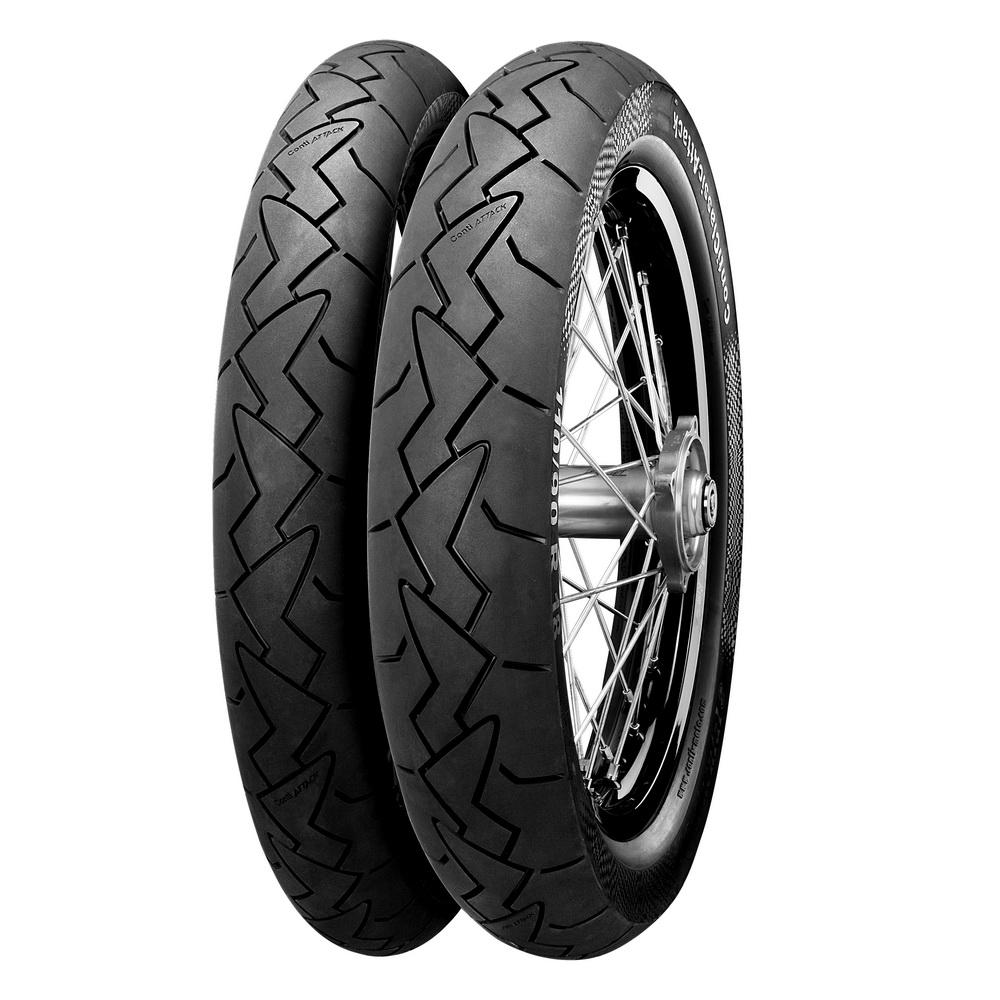 новые шины для классических мотоциклов - ContiClassicAttack
