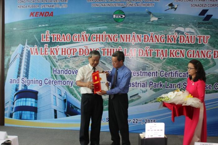 Kenda построит второй шинный завод во Вьетнаме