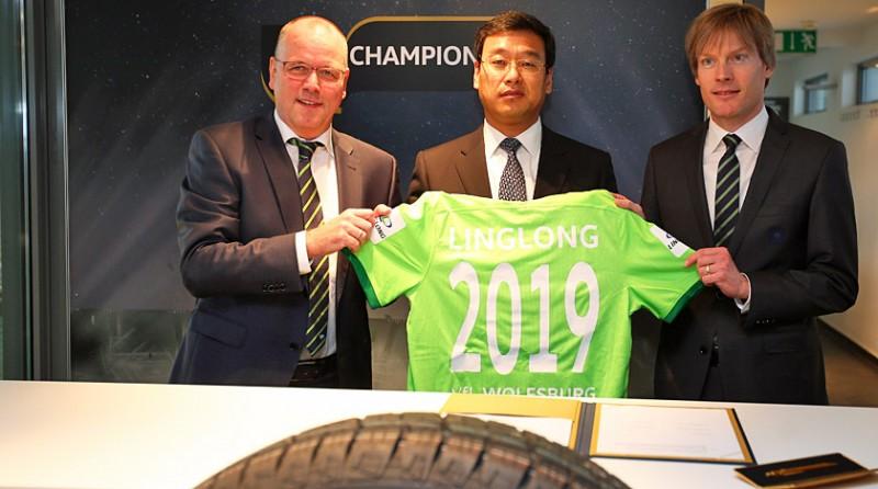 Linglong Tire расширяет сотрудничество с немецким футбольным клубом VfL Wolfsburg
