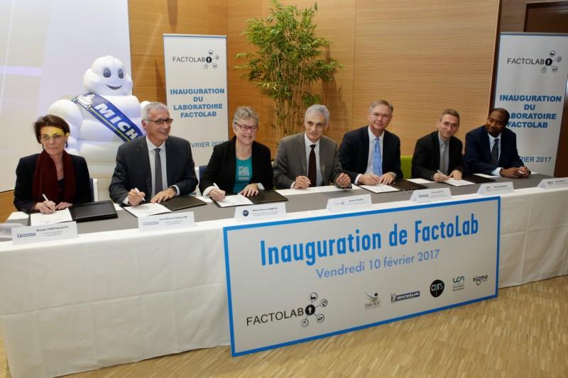 Michelin и Университет Оверни создали совместную научно-исследовательскую лабораторию