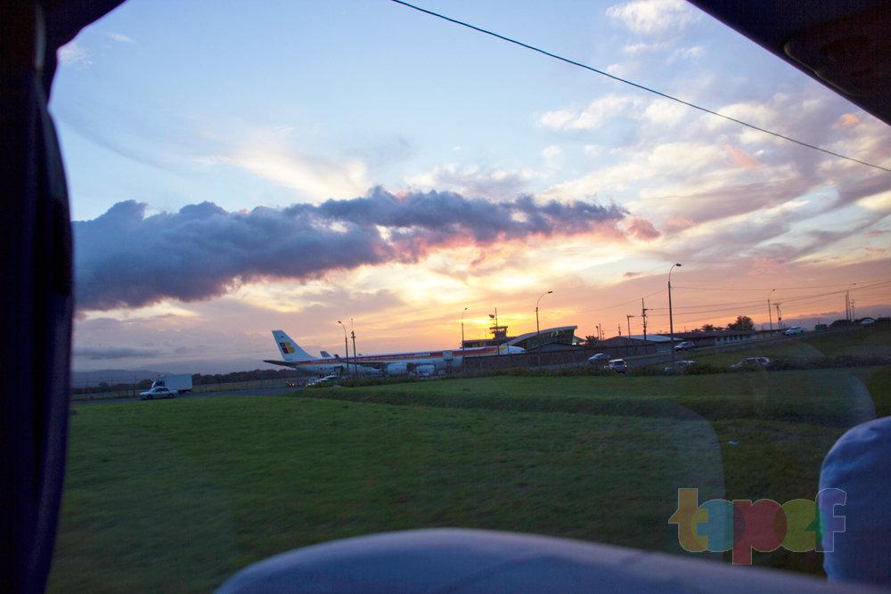 Тест драйв шин Кордиант All Terrain в Коста-Рике. Посадка