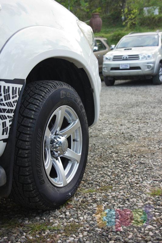 Тест драйв шин Кордиант All Terrain в Коста-Рике. Размер шин