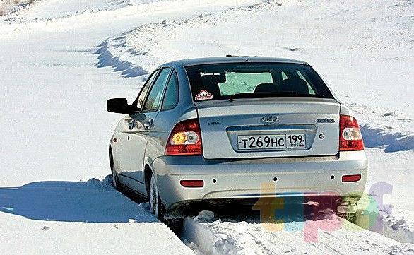 Тест шипованных шин 175/65R14 (За рулем)