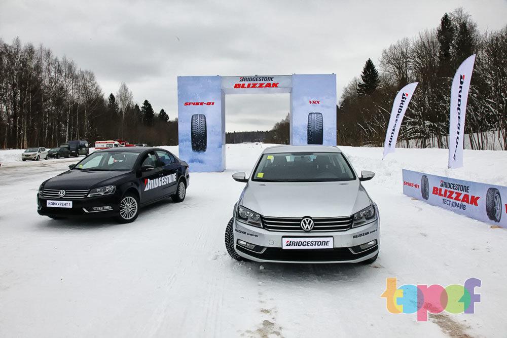 Тест зимних шипованных шин Blizzak Spike-01 (Topof.ru)