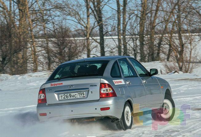 Тест зимних шин 175/65R14 (За рулем)
