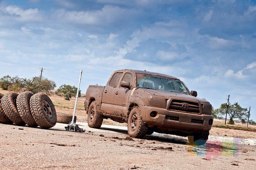 Тест внедорожных шин 265/75R16 (АвтоРевю)