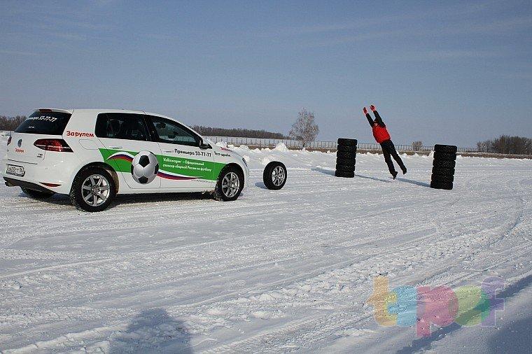 Тест шипованных шин 205/55R16 (За рулем)