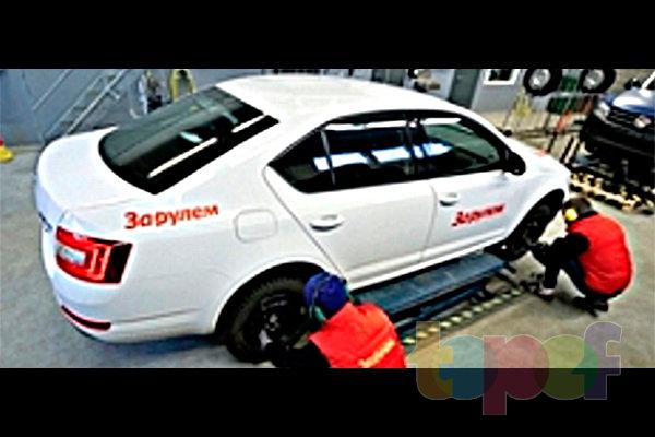 Тест зимних шин 195/65R15 (За рулем)
