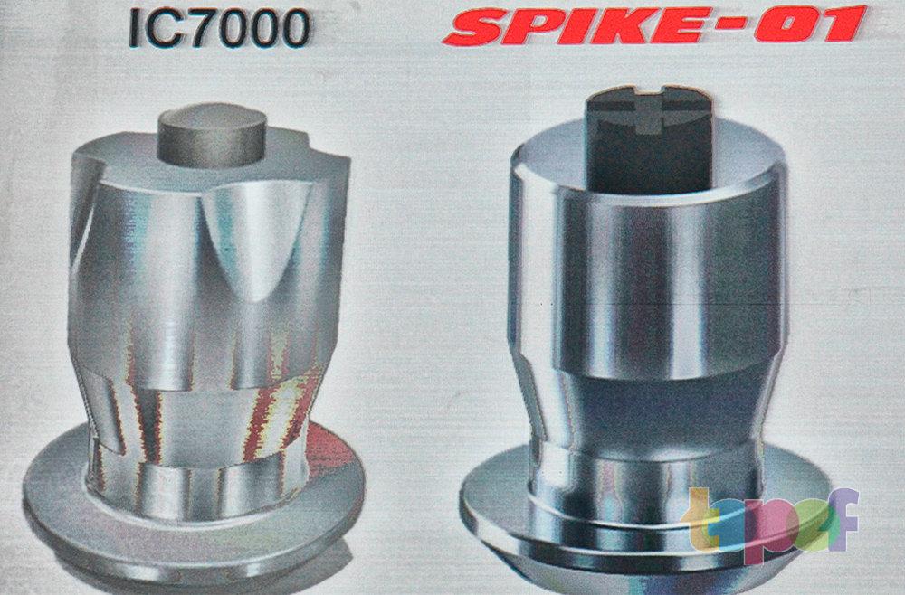Шипы шин Bridgestone Blizzak Spike-01 и Ice Cruiser 7000
