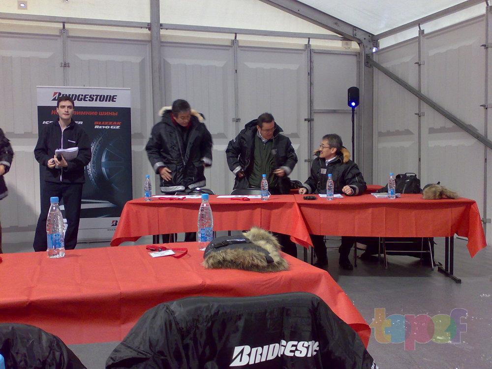 Тест-драйв зимних шин Bridgestone Blizzak Revo GZ. Пресс-конференция. Начало