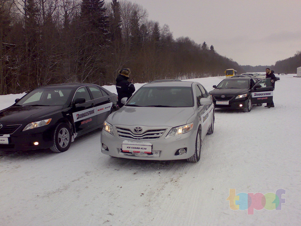 Тест-драйв зимних шин Bridgestone Blizzak Revo GZ. Сравнение шин