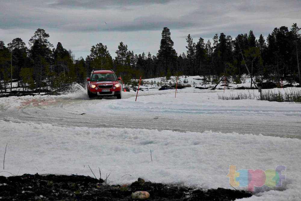 Тест драйв зимних шин Cordiant Polar SL