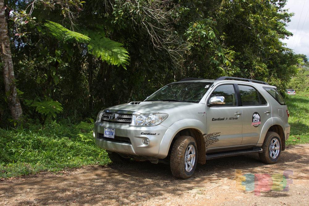 Тест драйв шин Кордиант All Terrain в Коста-Рике. В тени деревьев