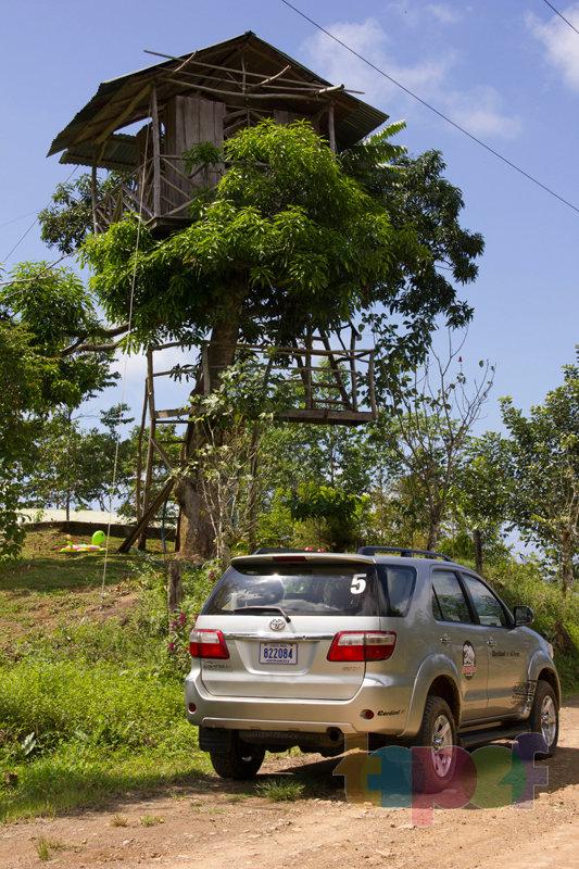 Тест драйв шин Кордиант All Terrain в Коста-Рике. Наблюдательная вышка