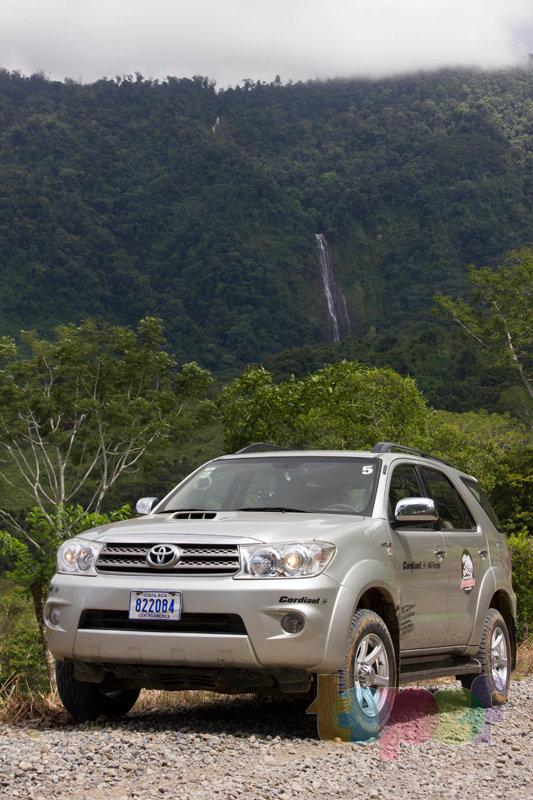 Тест драйв шин Кордиант All Terrain в Коста-Рике. Красивый вид