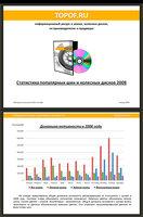 Обработанные статистические данные о предпочтения автовладельцев. Материалы предоставлялись всем желающим по ссылке в интернете или на диске по почте