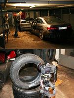 Съемки первых видео роликов проходили в нашем гараже для удобства и наглядности