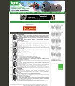 Редизайн сайта koleso.topof.ru оформленный по заказу компании Nokian Tyres под зимний сезон