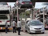 Импорт легковых автомобилей в Россию упал на 22,6%