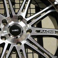 Неожиданная презентация колесных дисков WRC в Москве