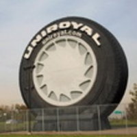 Самая большая модель шины в мире отмечает полувековой юбилей