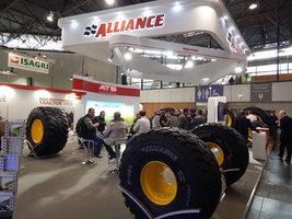 Alliance выпускает новую радиальную флотационную шину Alliance 380 VF
